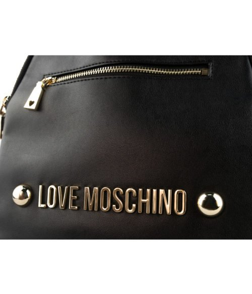 Borsa donna LOVE MOSCHINO nero black zainetto soft grain