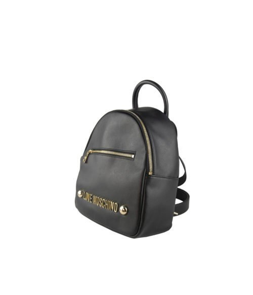 Borsa donna LOVE MOSCHINO nero black zainetto soft grain nero
