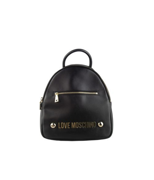 Borsa donna LOVE MOSCHINO nero black zainetto soft grain pu