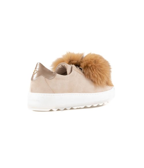 SNEAKERS DONNA PHILIPPE MODEL BEIGE PON PON