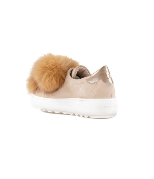 SNEAKERS DONNA PHILIPPE MODEL BEIGE VBLD PP01 MADE IN ITALY