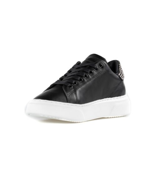 SNEAKERS DONNA PHILIPPE MODEL NERO BGLD SD02 NOIR ITALY
