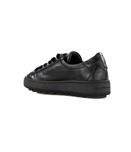 SNEAKERS DONNA PHILIPPE MODEL NERO VBLD M004 NOIR MADE IN ITALY