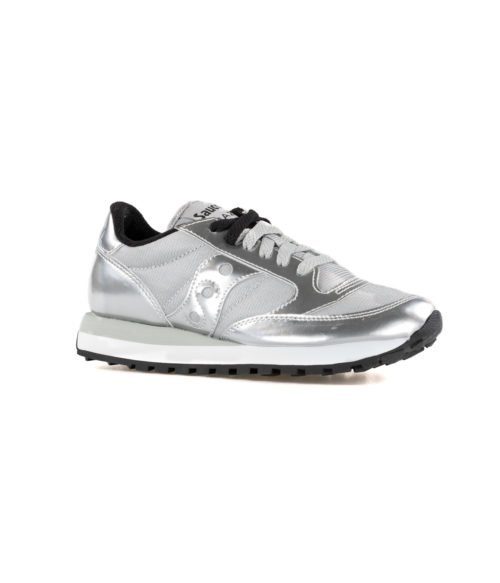 SNEAKERS DONNA SAUCONY JAZZ ORIGINAL SILVER ARGENT S1044 461