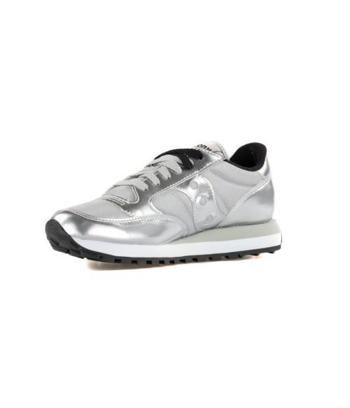 SNEAKERS DONNA SAUCONY JAZZ ORIGINAL SILVER ARGENT S1044