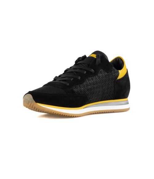 SNEAKERS UOMO PHILIPPE MODEL NERA TRLU PS47 PERFORE NOIR