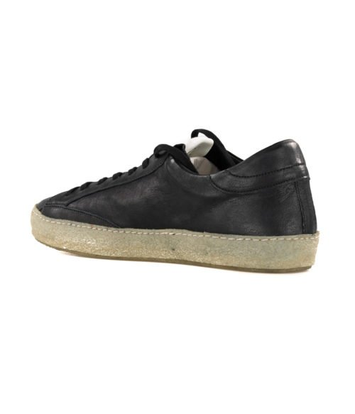 SNEAKERS UOMO PHILIPPE MODEL NERO CVLU WW10 VINTAGE