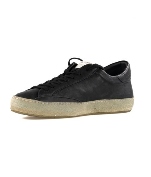 SNEAKERS UOMO PHILIPPE MODEL NERO CVLU WW10 VINTAGE NOIR