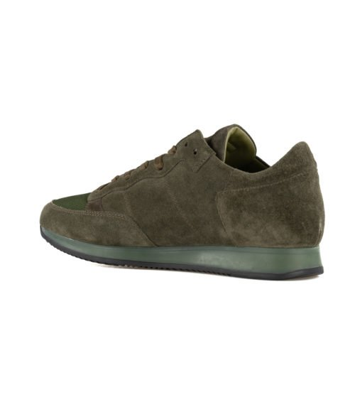 SNEAKERS UOMO PHILIPPE MODEL VERDE TRLU DS01 SUEDE