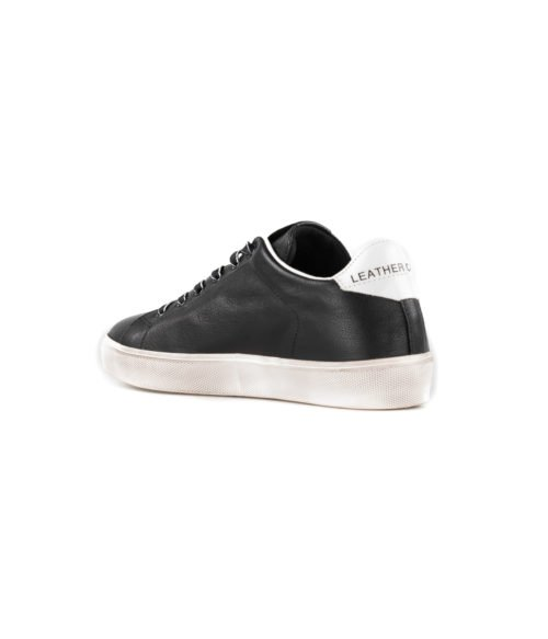 SNEAKERS DONNA LEATHER CROWN NERA W_ICONIC