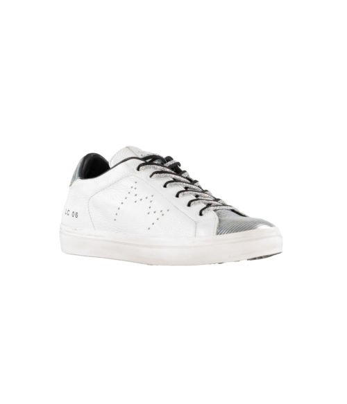 SNEAKERS DONNA LEATHER CROWN BIANCA PELLE