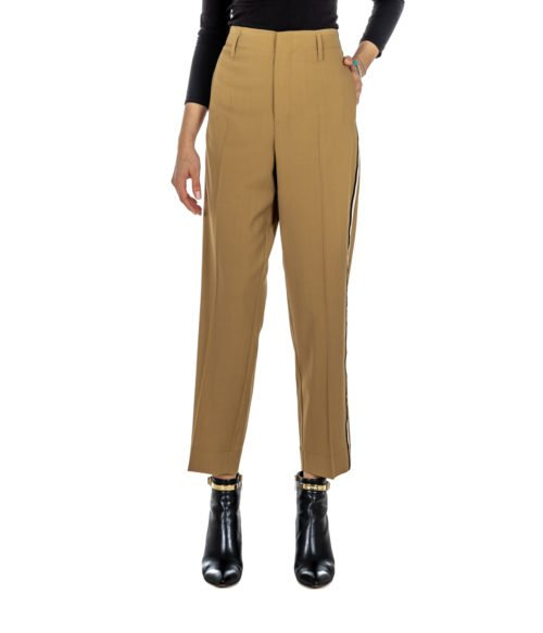 PANTALONE DONNA FORTE_FORTE BEIGE LANA 5816_MY PANTS MADE IN ITALY