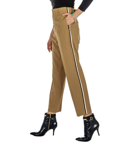 PANTALONE DONNA FORTE_FORTE BEIGE LANA 5816_MY PANTS MADE IN ITALY BEIGE