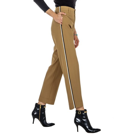 PANTALONE DONNA FORTE_FORTE BEIGE LANA 5816_MY PANTS MADE IN ITALY LANA