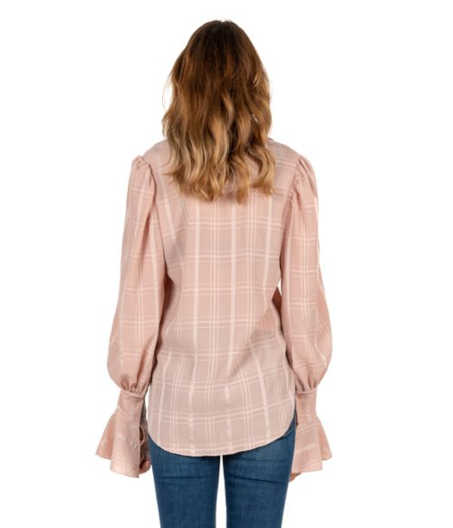 CAMICIA DONNA SEE BY CHLOÉ ROSA FANTASIA SMOKY PINK WOMAN