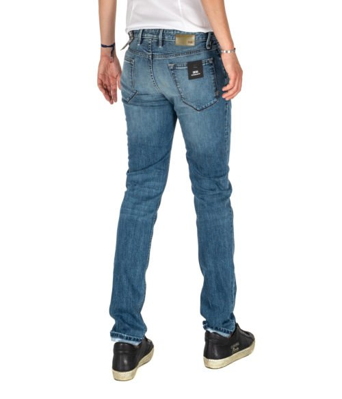 JEANS UOMO PT05 BLU PREMIUM DENIM SWING NEW SUPERSLIM FIT C6 DJ25
