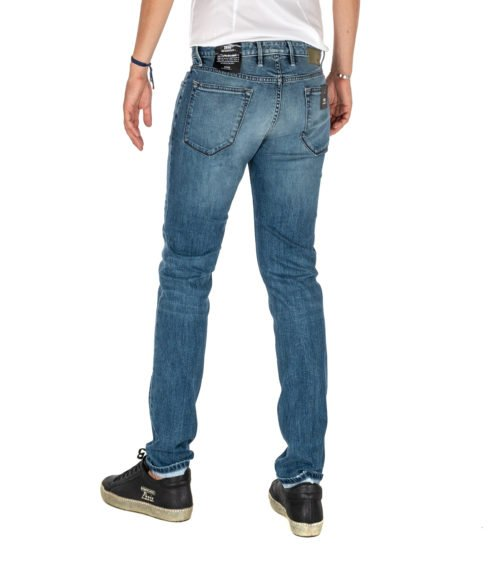 JEANS UOMO PT05 BLU PREMIUM DENIM SWING NEW SUPERSLIM FIT C6 DJ25Z