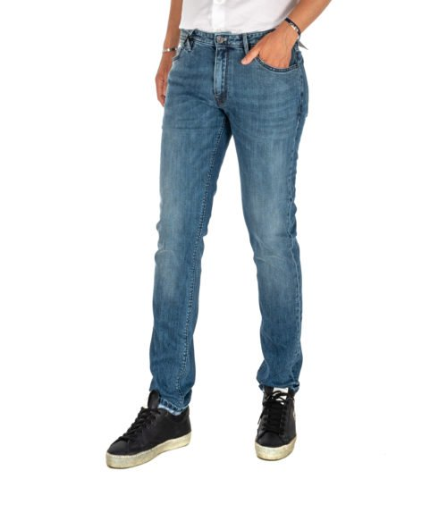 JEANS UOMO PT05 BLU PREMIUM DENIM SWING NEW SUPERSLIM FIT C6 DJ25Z1