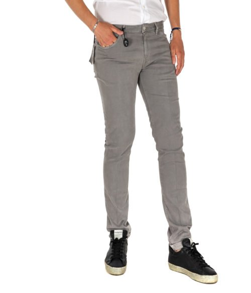 JEANS UOMO PT05 GRIGIO SWING NEW SUPERSLIM FIT C5DT 05Z0