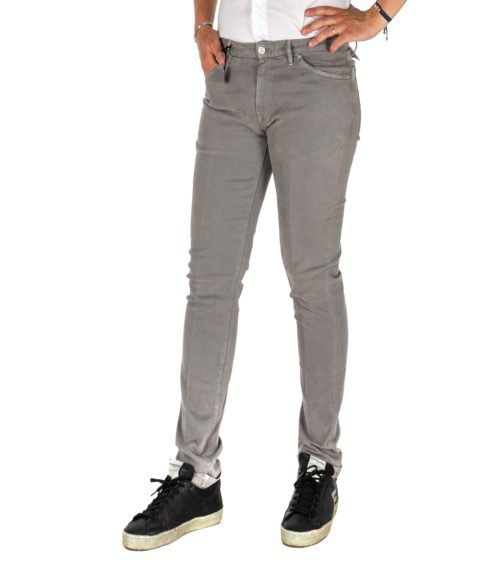 JEANS UOMO PT05 GRIGIO SWING NEW SUPERSLIM FIT C5DT 5Z00