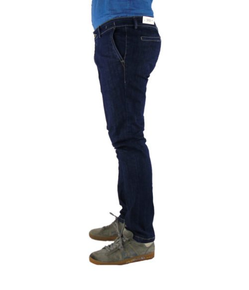 JEANS UOMO EXIGO BLU DENIM SCURO MADE IN ITALY