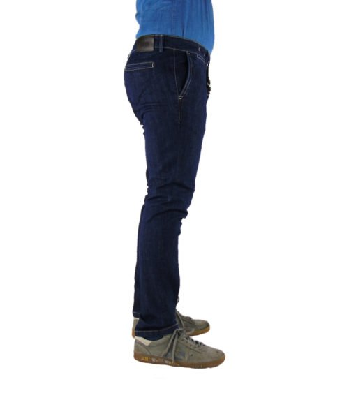 JEANS UOMO EXIGO BLU DENIM SCURO SLIM FIT