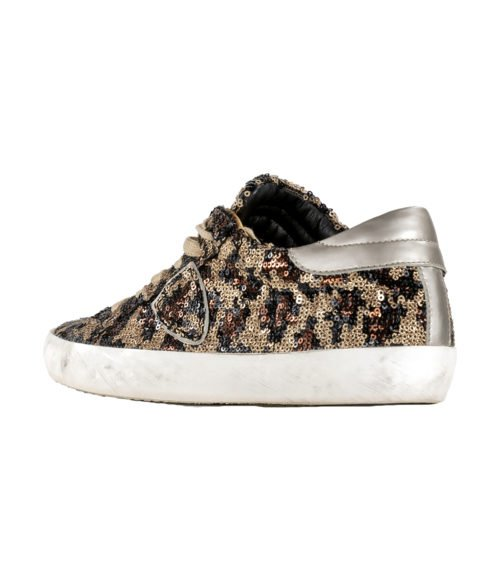 SNEAKERS DONNA PHILIPPE MODEL FULL PAILLETTES BRUNOR