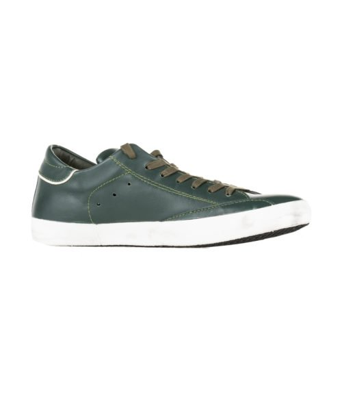 SNEAKERS UOMO PHILIPPE MODEL PARIS VERDE