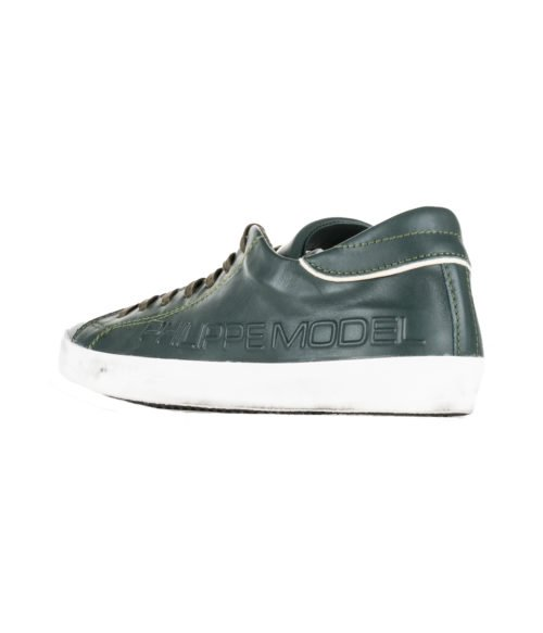 SNEAKERS UOMO PHILIPPE MODEL PARIS VERDE HAUT FREQUENCE VERT MADE IN ITALY
