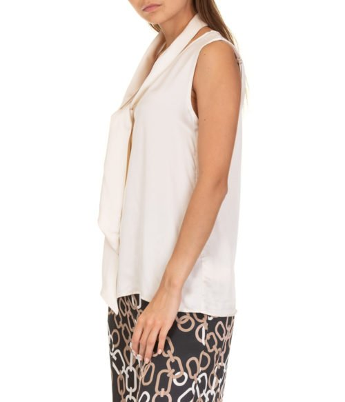 TOP DONNA EMME MARELLA BEIGE STAFFA 001 VISCOSA