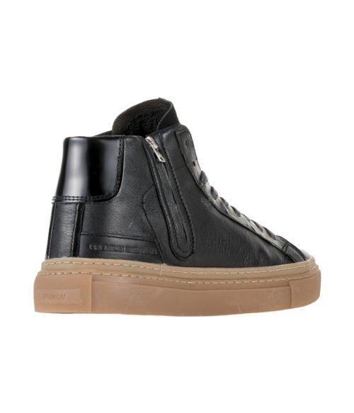 SNEAKERS UOMO D.A.T.E. NERA ALTA LAX HIGH BLACK