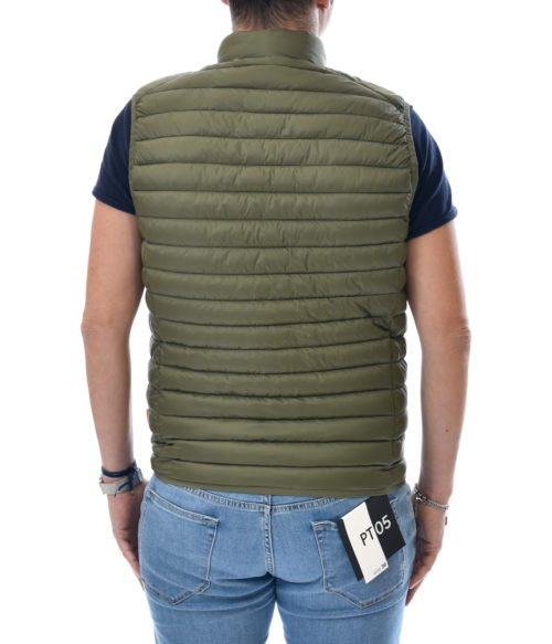 SAVE THE DUCK GILET UOMO VERDE D8241 GIGA8