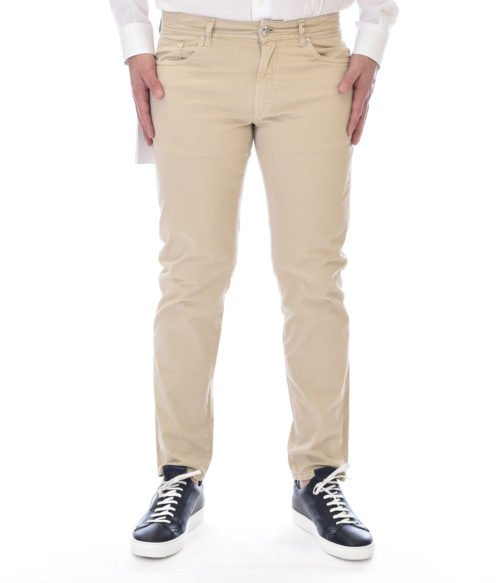 MICHAEL COAL PANTALONE UOMO BEIGE MC-GEORGE