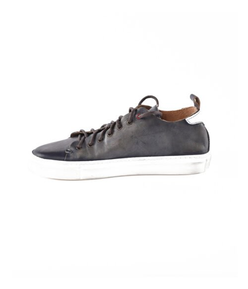 WALLY WALKER SNEAKERS UOMO VERDE PELLE VINTAGE