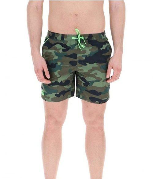 SUNDEK COSTUME UOMO DEEP FOREST BOARDSHORT ELASTIC WAIST 16 Camouflage 2