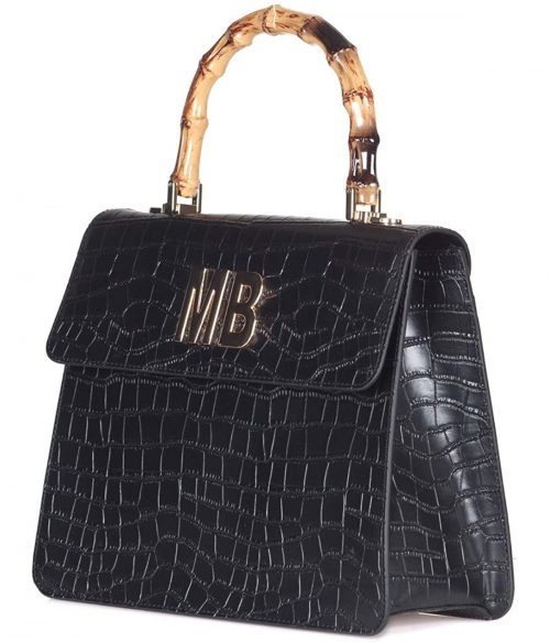 MIA BAG BORSA DONNA NERA DOCTOR BAG IN PELLE 1
