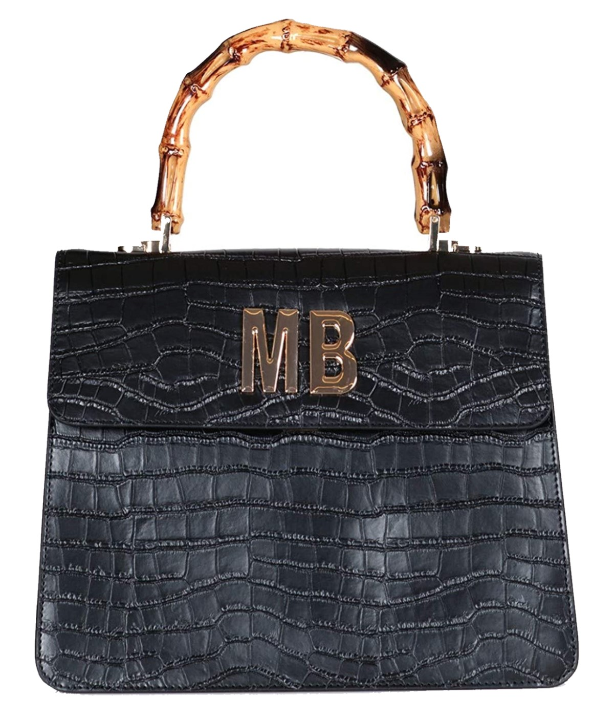 MIA BAG BORSA DONNA NERA DOCTOR BAG IN PELLE