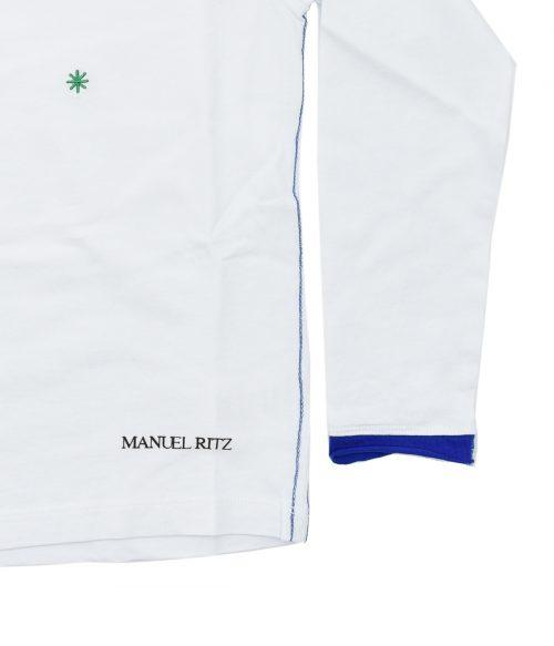 MANUEL RITZ T-SHIRT BAMBINO BIANCA FANTASIA 4-16 ANNI 2